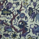 THE LETTERS ヨーロッパのリネン オランダ Chintz fabric【Zaan streek】 140×50cm
