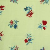 THE LETTERS ヨーロッパのリネン オランダ Chintz fabric【RED FLOWER】 140×50cm
