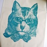 会員限定30%OFF★【CHASE AND WONDER】Sophisticated Cat タオル -インテリジェンスな猫-