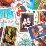 ★STEP1★世界の古切手シリーズ クリスマス 10枚セット