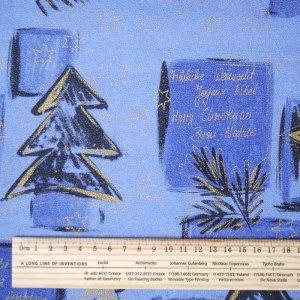 画像2: ドイツのシルキーペーパー もみの木とメッセージ クリスマスラッピングに