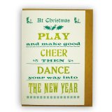 【CHASE AND WONDER】クリスマスカード チアダンス Dance, Play and Cheer