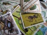 ★STEP1★世界の古切手シリーズ 昆虫  10枚セット
