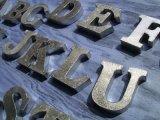 ★限定セール★ブリキのアルファベット A-Z イニシャルをディスプレイ