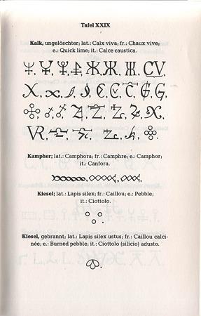 錬金術の書から抜粋し彫りこみます。