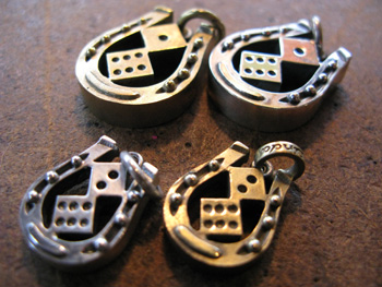 Lucky Horse Shoe with Dice