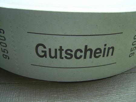 ドイツのチケット ブルー