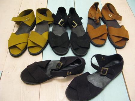 TheeTrio/Explorer sandal