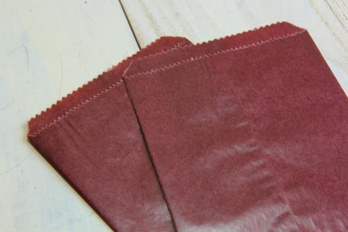 チョコレートグラシン袋 10枚 ブライダル雑貨 活版雑貨 封蝋雑貨