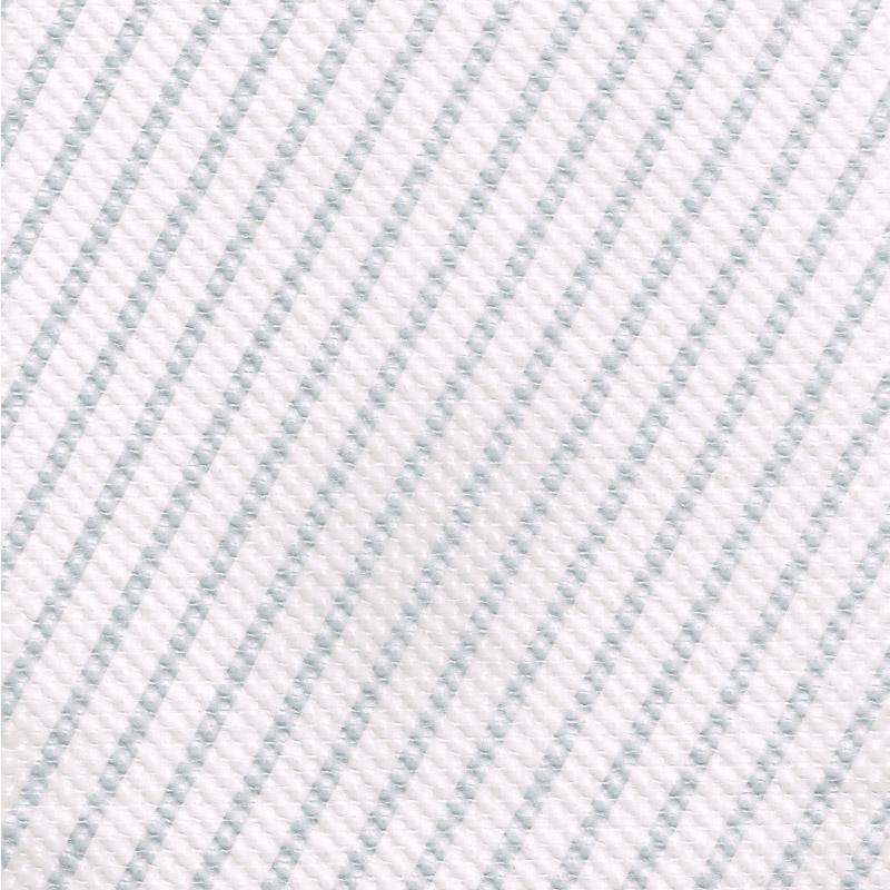 ストライプエンボス ロウ引き紙 白×銀