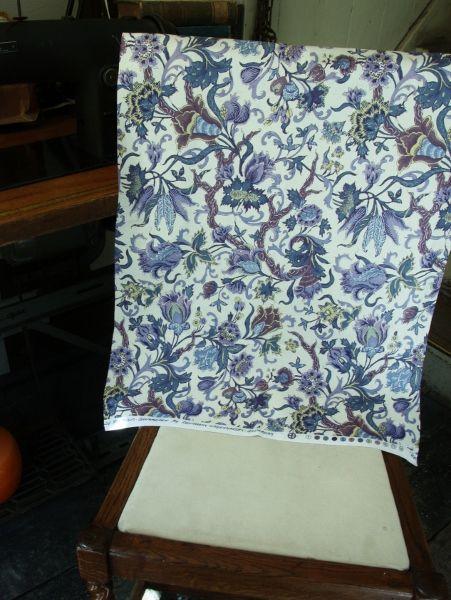 THE LETTERS ヨーロッパのリネン オランダ Chintz fabric【Zaan streek】ブライダル雑貨 活版雑貨 封蝋雑貨