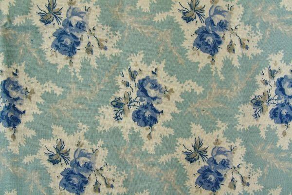 THE LETTERS ヨーロッパのリネン フランス Mas d'Ouvan(マドヴァン)【LEA】BLUE リバティ ブライダル雑貨 活版雑貨 封蝋雑貨