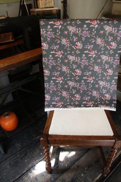 THE LETTERS ヨーロッパのリネン オランダ Chintz fabric【Waterland】ブライダル雑貨 活版雑貨 封蝋雑貨
