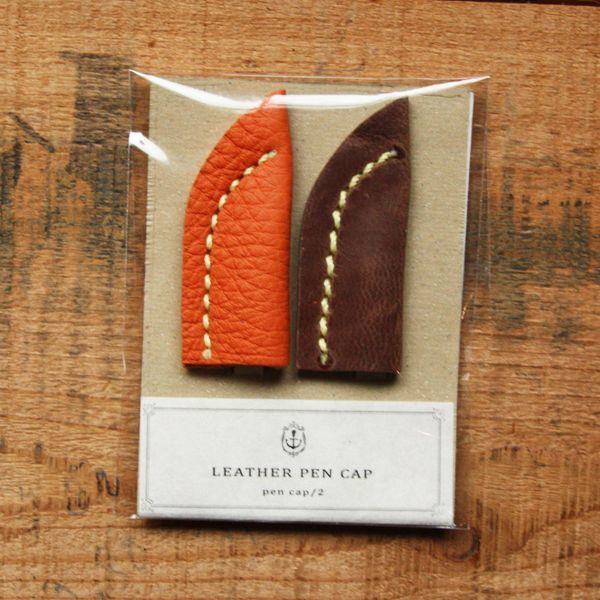 【St.Japonism】 レザーペンキャップ LEATHER PEN CAP