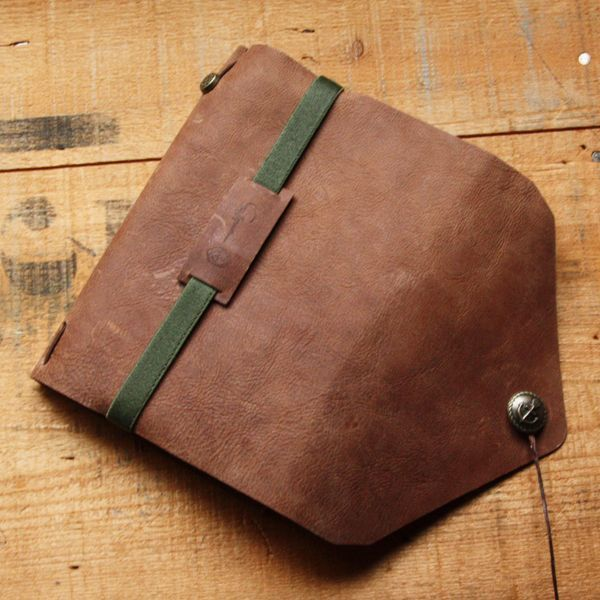 【St.Japonism】 レザーノートカバー LEATHER COVER NOTE  パルプノート付き