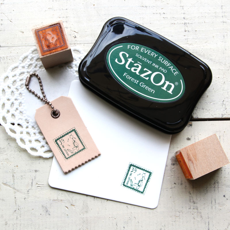 THE LETTERS 様々な素材に捺せる速乾性の油性染料パッド StazOn ステイズオン