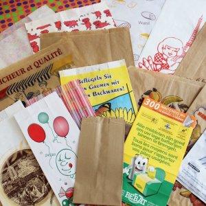 画像1: ★STEP1★cafe papier 海外の袋セット