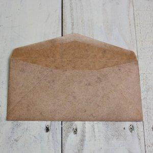 画像2: ★STEP1★ロウ引き 洋型封筒 10枚