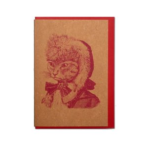 画像1: 【CHASE AND WONDER】 クリスマスカード アニマル CHRISTMASCARD ANIMAL