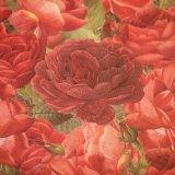 ★STEP1★デコレーションペーパー 赤いバラ
