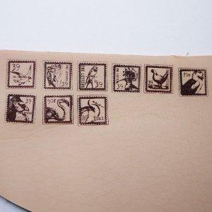 画像2: ★STEP3★THE LETTERS 切手スタンプ 鳥