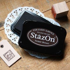 画像1: ★STEP3★THE LETTERS 様々な素材に捺せる速乾性の油性染料パッド StazOn ステイズオン