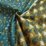 THE LETTERS ヨーロッパのリネン オランダ Chintz fabric【Ducth Garden 】BLUE 140×50cm