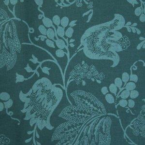 画像1: THE LETTERS ヨーロッパのリネン オランダ Chintz fabric【Tonsurton】 140×50cm