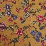 THE LETTERS ヨーロッパのリネン オランダ Chintz fabric【Plant】MUSTARD 140×50cm