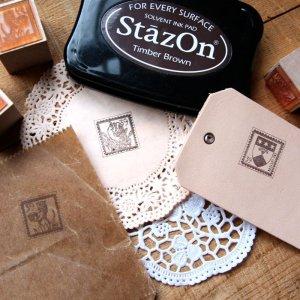 画像1: ★STEP3★THE LETTERS 切手スタンプ 紋章