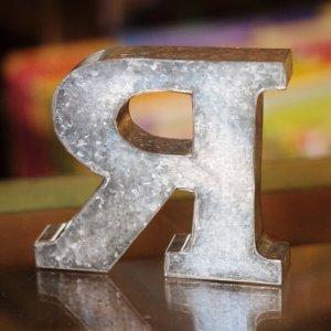 画像3: ★限定セール★ブリキのアルファベット A-Z イニシャルをディスプレイ