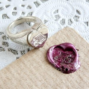 画像3: ORDERMADE SEALING WAX LOCKET RING