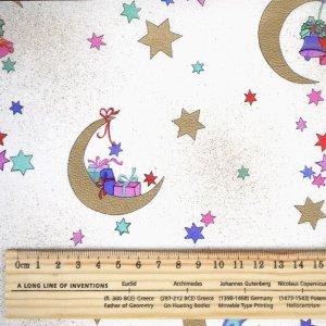 画像2: ドイツのシルキーペーパー 月とプレゼント