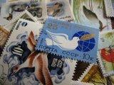 ★STEP1★世界の古切手シリーズ 鳥 10枚セット