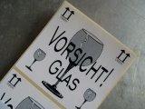 ★STEP1★ドイツの梱包用シール5枚入り C