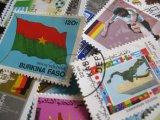 ★STEP1★世界の古切手シリーズ 国旗 10枚セット