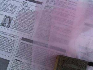 画像1: ★STEP1★アメリカのワックスペーパー ピンク