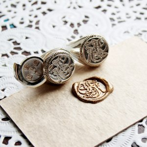 画像5: ORDERMADE SEALING WAX LOCKET RING