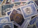 ★STEP1★世界の古切手シリーズ あおいろ 10枚セット